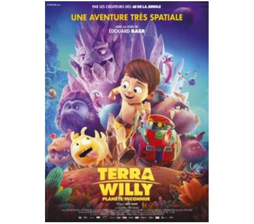 Photos Vivastreet 2 places de cinéma pour Terra Willy Planète inconnue