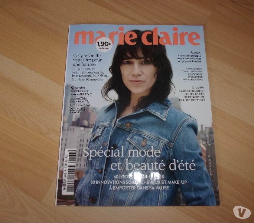 Photos Vivastreet Magazine Marie Claire N° 803 - Juillet 2019
