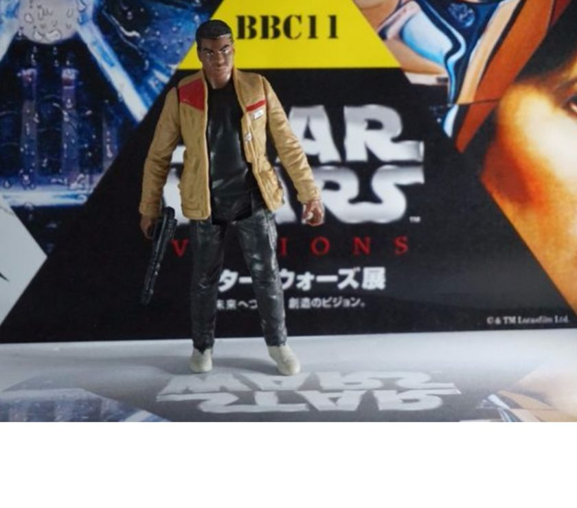 Photos Vivastreet figurine star wars finn episode 7-8 rebel