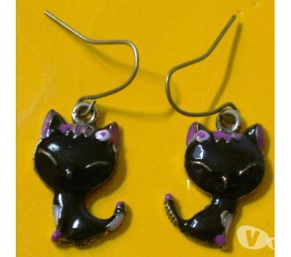 Photos Vivastreet Boucles d'oreilles chat noir