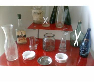 Photos Vivastreet bouteilles, carafes, cendriers anciens - zoe