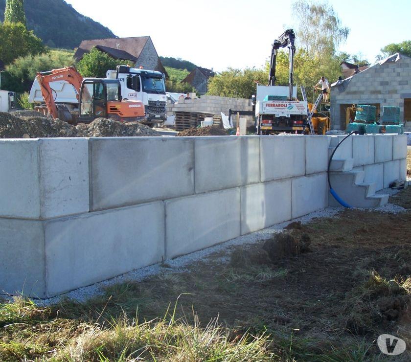 Mur blocs b ton sout nement pr fabriqu gabion b ton pannessieres 395 - Mur de soutenement en beton ...
