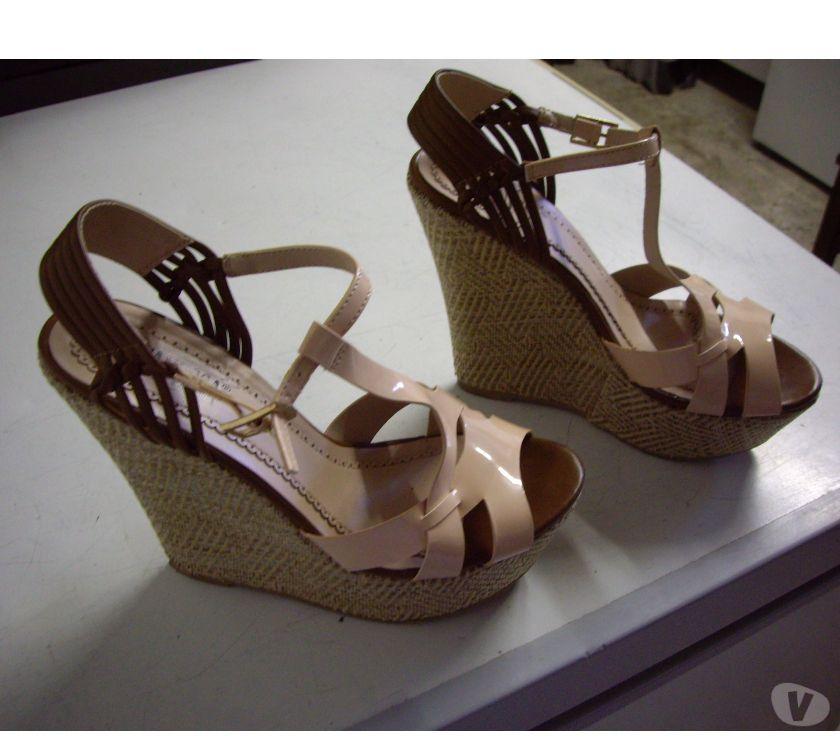 Photos Vivastreet Chaussures d'été à talons compensés pt 38-neuves