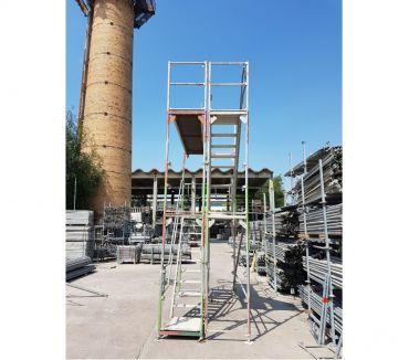 Photos Vivastreet Tour d'escaliers d'occasion 10m Layher facadier