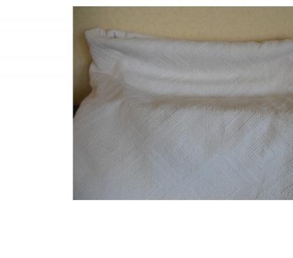 Photos Vivastreet Jeté de lit piqué 100% coton