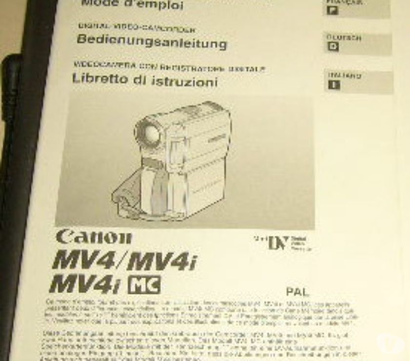 Photos Vivastreet télécommande camescope canon mini-dv ref. WL-D76