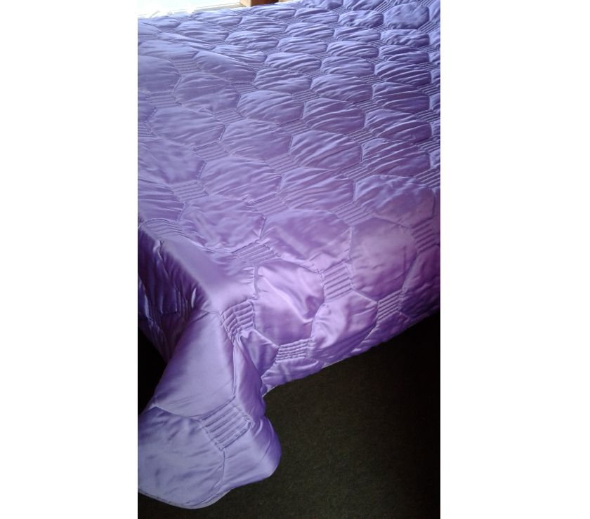 Photos Vivastreet Couvre lit matelassé 2 personnes satin