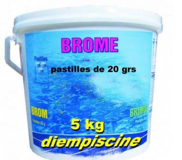 Photos Vivastreet brome pour piscines seau de 5 kg promotion