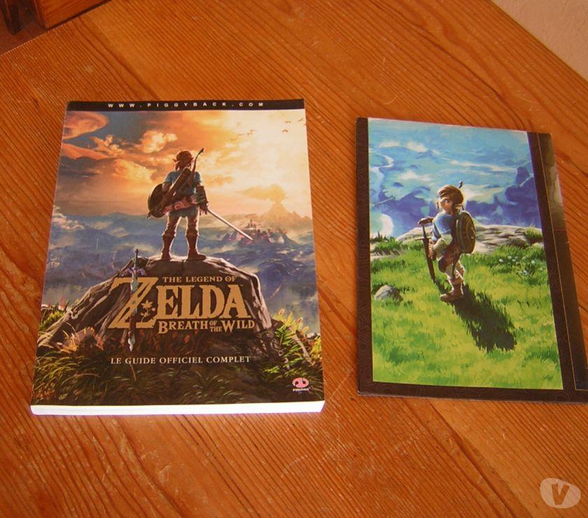 Photos Vivastreet Zelda-Breath of the Wild guide officiel