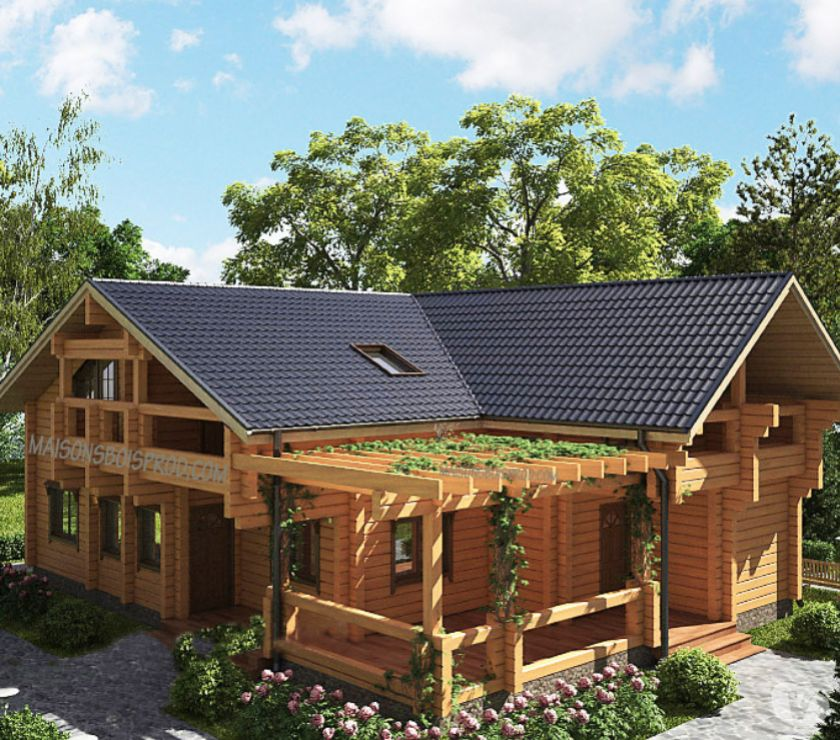 Photos Vivastreet Belle maisons en bois madrier massif RT2012 (Colombia)