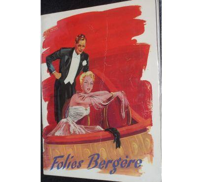 Photos Vivastreet RARE : Folies Bergères Catalogue programme des années 50 no