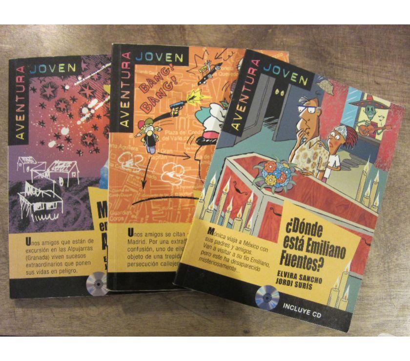 Photos Vivastreet Trois livres en espagnol + CDs, niveau A1