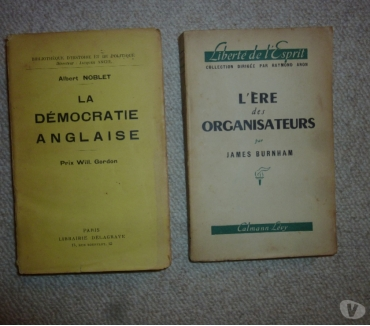 Photos Vivastreet 2 anciens livres - James Burnham & Albert Noblet