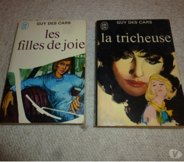 Photos Vivastreet 2 livres J'ai Lu Guy des Cars (1957 - 1959)