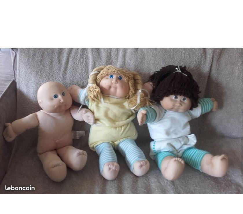 Photos Vivastreet -patoufs -cabbage patch kids -