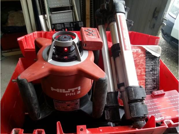 Laser rotatif hilti pri 2 trepieds telecommande - Laser rotatif hilti ...