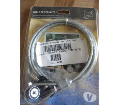 Photos Vivastreet Câble antivol ordinateur