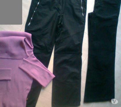 Photos Vivastreet 2 pantalons - 1 col roulé - 38 - zoe