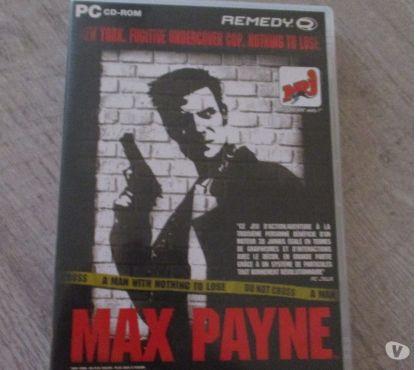 Photos Vivastreet Cd-rom pour PC : Max Payne