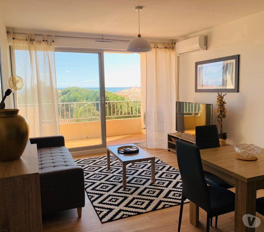 location saisonniere Pyrénées-Orientales St Cyprien - 66750 - Photos Vivastreet Appartement vue sur mer avec place de parking réservée