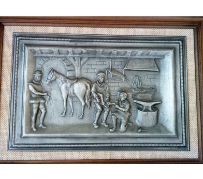 Photos Vivastreet Tableau du Forgeron dans sa forge