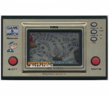Photos Vivastreet LCD GAME & WATCH NINTENDO PP-23 SEUL - POPEYE