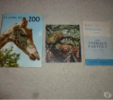 Photos Vivastreet 3 livres sur les animaux