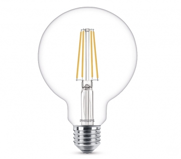 Photos Vivastreet Ampoule vintage LED Philips blanck chaud 7W (60W) neuve