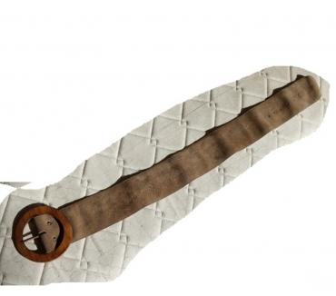 Photos Vivastreet ceinture en daim marron longueur 90 cm largeur 8 cm