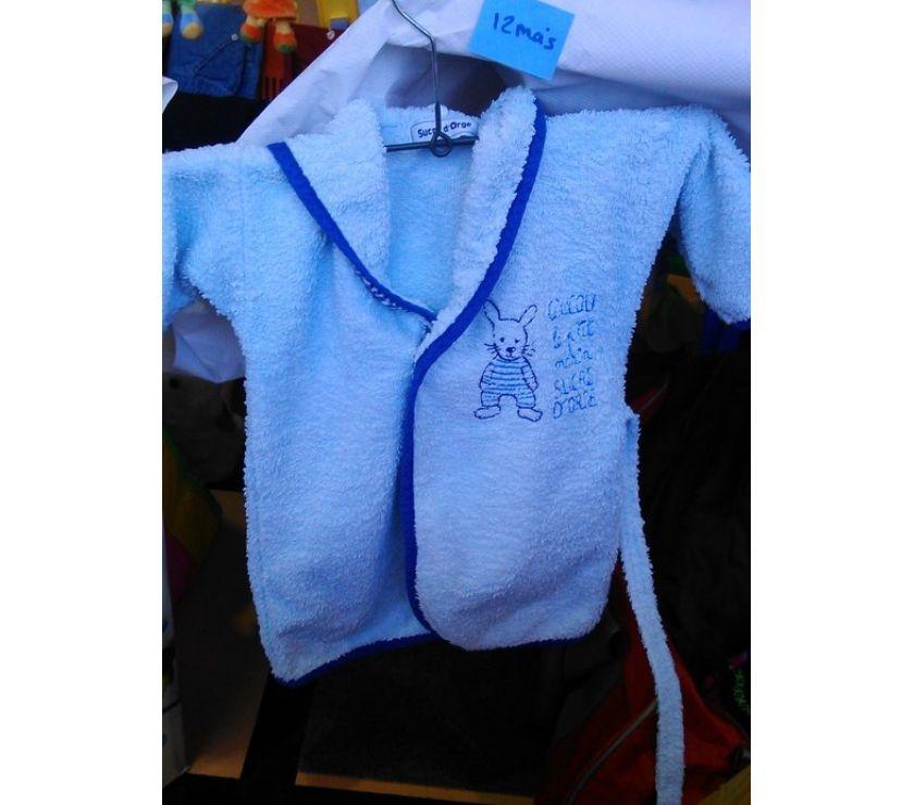 Vêtements bébés Essonne Juvisy sur Orge - 91260 - Photos Vivastreet robe de chambre éponge bébé