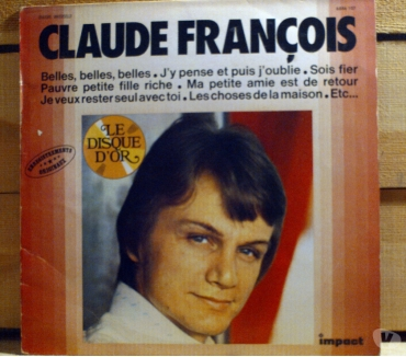 Photos Vivastreet CLAUDE FRANCOIS Le disque d'or