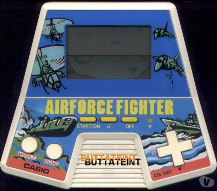 Photos Vivastreet LCD CASIO CG 380 SEUL - AIRFORCE FIGHTER