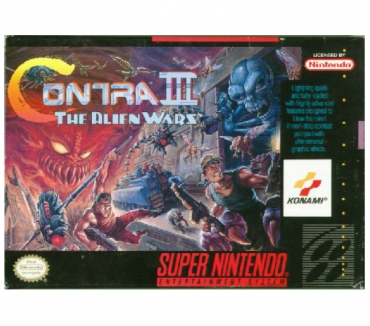 Photos Vivastreet Contra 3 sur SNES