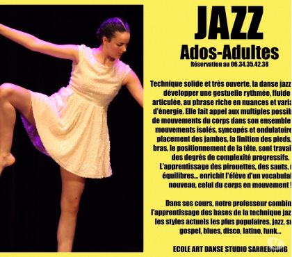 Photos Vivastreet Danse Jazz ados adultes