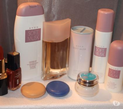 Photos Vivastreet LOT SOFT MUSK AVON 10 ARTICLES NEUFS + CADEAU