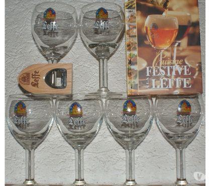 Photos Vivastreet La cuisine FESTIVE à la LEFFE & 6 verres & ouvre bouteille