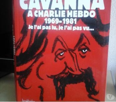 Photos Vivastreet Cavanna à Charlie Hebdo