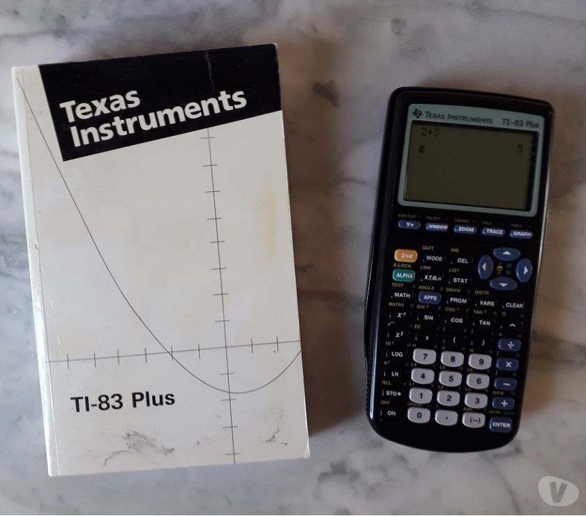 Photos Vivastreet calculatrice scientifique Texas Instrument TI-83 plus