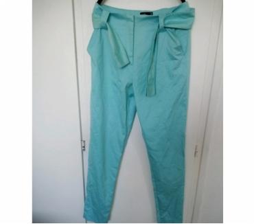Photos Vivastreet Pantalon Léa Rome bleu turquoise T38