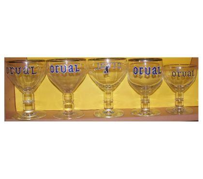Photos Vivastreet verres à bière ORVAL 5 modèles différents,