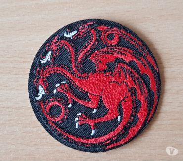 Photos Vivastreet ecusson brodé game of throne maison Targaryen dragon