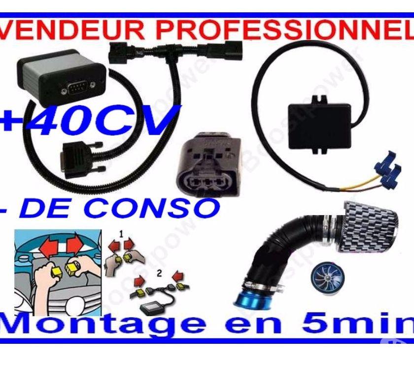 Chips et puces pour véhicule Articles de tuning et de styling pour véhicule Boitier Additionnel Puce Chip Moteur Mercedes Class C 270 CDI 170 cv