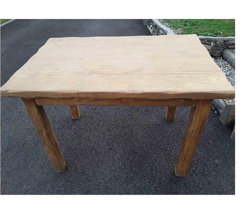 Ameublement & art de la table Isère Allevard - 38580 - Photos Vivastreet Table pin massif 110X75