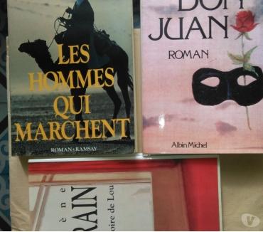 Photos Vivastreet Lot de 3 romans