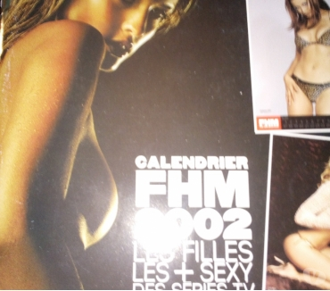 Photos Vivastreet calendrier fhm 2002