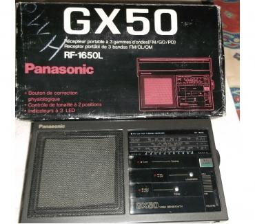 Photos Vivastreet RADIO PANASONIC GX 50