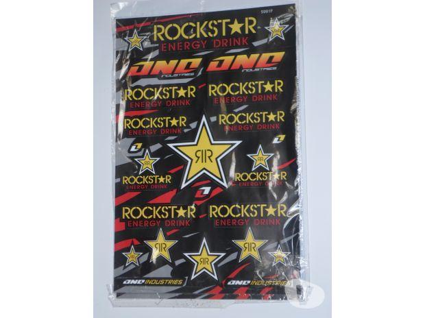 Photos Vivastreet Kit stickers : ROCSTAR- MONSTRE- FOX HONDA...