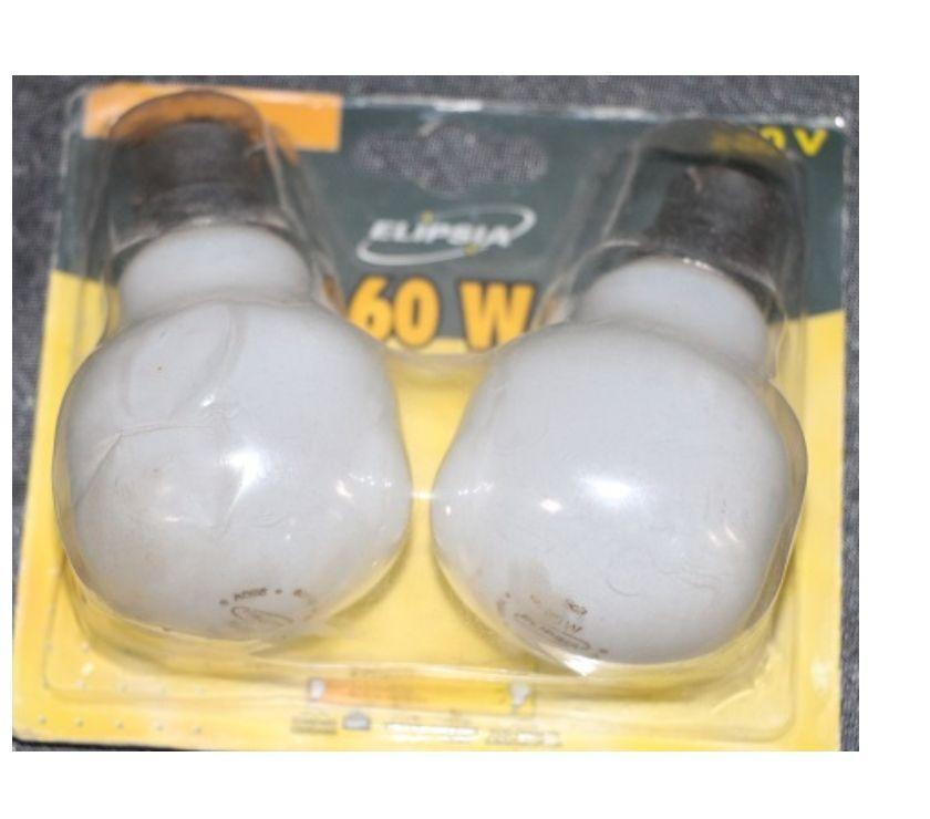 Photos Vivastreet 2 ampoules neuves baionnette B22 60w