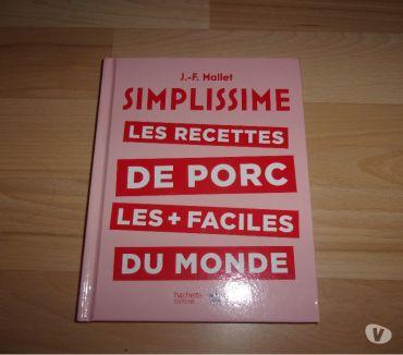 Photos Vivastreet Livre Simplissime Les recettes de porc (Neuf)