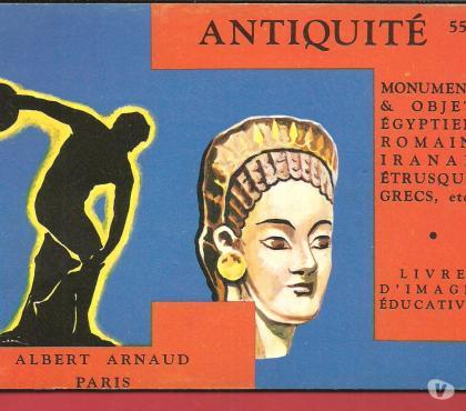 Photos Vivastreet Livre d'images éducatives n° 55 ANTIQUITE Albert ARNAUD